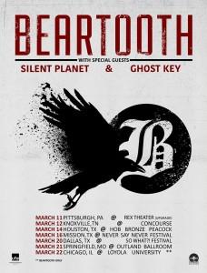 Beartooth-2016 tour-poster