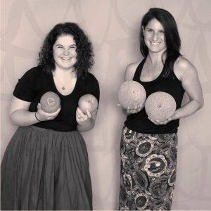 Co-founders Laura West and Sophia Berman Trusst Lingerie/FB