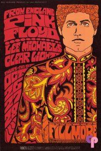 Bonnie MacLean Pink Floyd Poster
