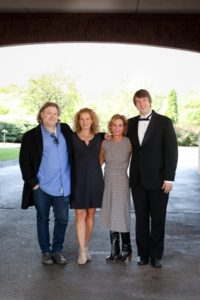 Left to Right. Tom Kurlander, Sherry Jo Matt, Linda Massaro, Kyle Simpson