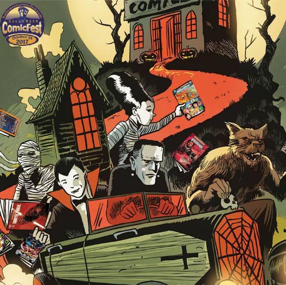 Phantom of the Attic Hosts Halloween ComicFest 2017 | Local Pittsburgh