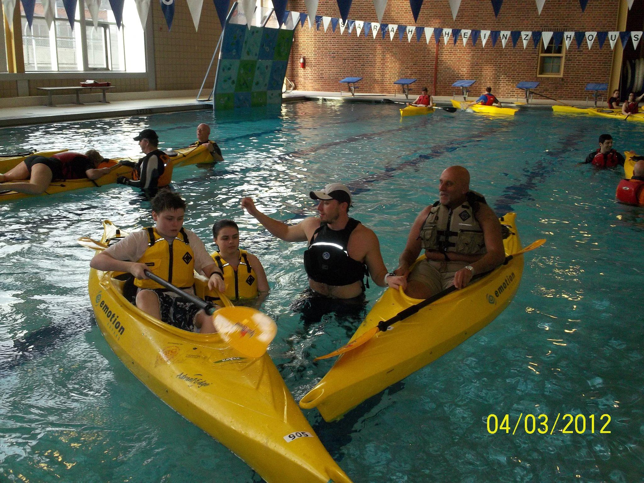 Canoeing pittsburgh